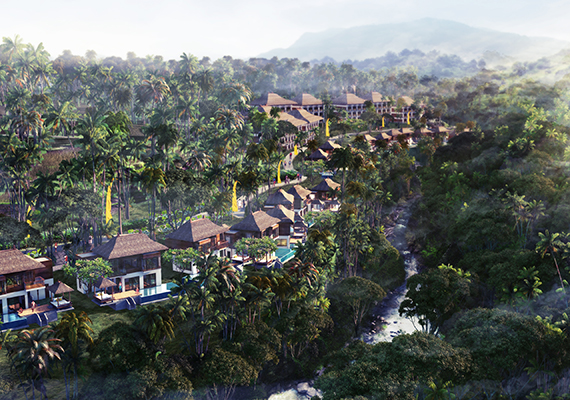Blusung Ubud Bali,commissioned by Mahanaim Group .