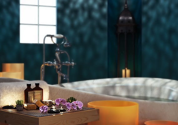 3d interiors inspired joya spa USA.